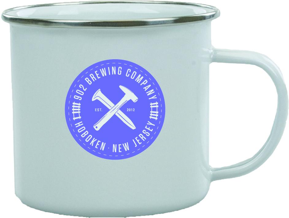 500 Ml Stainless Steel Campfire Mug Prestige Glassware
